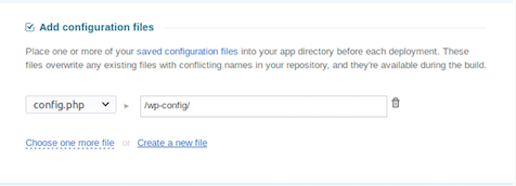Add Config Files