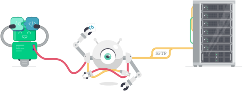 Configure a Custom Server Through SFTP with DeployBot