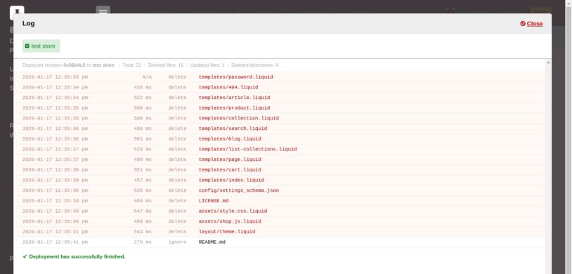 DeployBot log file